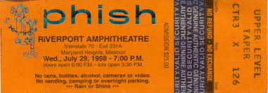 Phish Bathtub Gin Chords by Free Sunday Download 7 29 98 Riverport Gin Phishforum