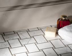 large basketweave mosaic tile pattern