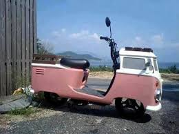 Amazing VW camper moped 50CC Scooters Pinterest