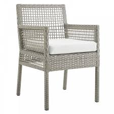 Modway Aura Outdoor Patio Wicker Rattan Dining Armchair Bainbridge Ding Arm Chair Montecito 25011 Gray All Weather Wicker Solano Outdoor Patio Armchair Endeavor Rattan Mexico 7 Piece Setting With Chairs Source Chloe Espresso White Sc2207163ewesp Streeter Synthetic Obi With Teak Legs Outsunny Coffee Brown 2pack Modway Eei3561grywhi Aura Set Of 2 Two Hampton Pebble