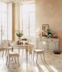 Country Chic Dining Room Ideas by Living Room Shabby Dining Room With Tile Flooring And Mid