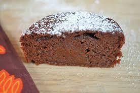 dessert a base de compote de pommes fondant au chocolat sans matière grasse ajoutée cuisine