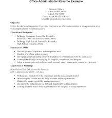 Example Resume For Highschool Graduate With No Experience Samples High School Graduates Builder Templates
