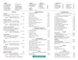 Tommys Patio Cafe by Menu Tommy U0027s Salsa Novato Mexican Restaurant