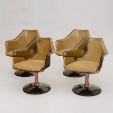 Set Of 4 Chromcraft Lounge Chairs, 1960s | #46673