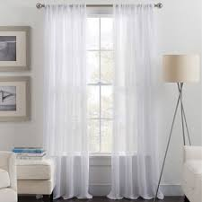 Bed Bath And Beyond Curtain Rod Rings by Buy Rod Pocket Sheer Curtains From Bed Bath U0026 Beyond