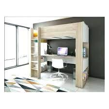 lit mezzanine bureau blanc bureau 2 places lit place blanc mezzanine but decolier bim