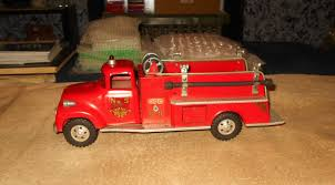 Vintage 50s/60s Tonka Fire Truck Pressed Steel -- Antique Price ... Tonka 1964 Fire Truck Hydrant 100 Original Patina One Owner Nice Vintage 1955 Tonka No 950 6 Suburban Pumper Fire Truck With Fire Truck On Shoppinder Metal Firetruck Vintage Articulated Toy Superior Auction 5 Water 1908254263 Suburban 1963 Paint Real Dept Hose Ladder Tfd A Sliding Ladder Vintage Toys Hydrant Wwwtopsimagescom Toys 1972 Aerial Photo Charlie R Claywell