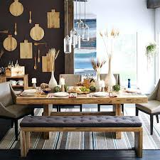 Wood Dining Table With Bench Scroll To Next Item Wooden Corner And Chair