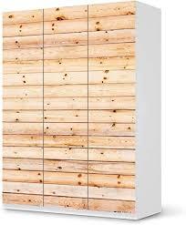 creatisto möbelfolie passend für ikea pax schrank 201 cm höhe 3 türen i möbelsticker möbel sticker aufkleber i deko ideen wohnung für