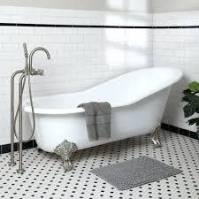 Unclogging A Bathtub Drain With Vinegar by Clogged Tub Drain Vinegar Unclog Bathtub With Plunger Boiling