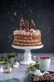 lebuchen torte mit glühweinkirschen und ein gewinn