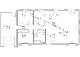 plan maison plain pied 3 chambre plan maison plain pied 3 chambres 110m2 design de maison