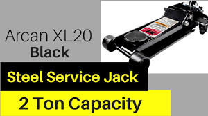 Arcan Floor Jack Xl35 by Arcan Xl20 Black Low Profile Steel Service Jack 2 Ton Capacity