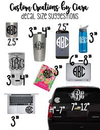 100 Custom Stickers For Trucks State Monogram Decal Decal Texas Heart Yeti Decal