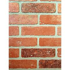 Bathtub Wall Liners Home Depot by 1 4 In X 48 In X 96 In Kingston Brick Hardboard Wall Panel