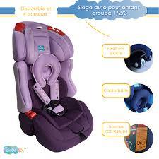 siege auto 123 isofix siège auto évolutif isofix bébélol pour enfant groupe 1 2 3 normes
