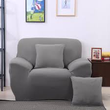 3 Seat Sofa Cover by Arm Chair One Seater Sofa Cover Slipcover Stretch Lounge Couch