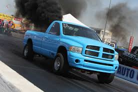 9-Second 2003 Dodge Ram Cummins Diesel Drag Race Truck Photo & Image ...