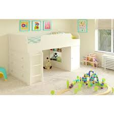 Ameriwood Media Dresser 37 Inch by Ameriwood Home Elements White Loft Bed With Dresser And Toy Box