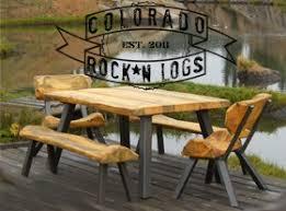 Log Furniture DIY Kits Plans