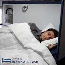 delta and westin launching first in flight heavenly bed the