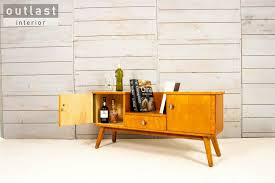 sideboard regal mid century design wohnzimmer
