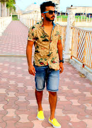 glam it up online the beach look for men