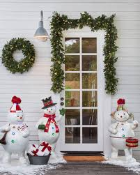 Small Fibre Optic Christmas Trees Australia by Outdoor Fiber Optic Snowman Band Balsam Hill