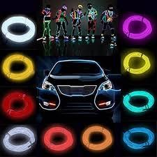 neon pour voiture exterieur 10 couleurs led bande lumière pour 300 cm néon el fil