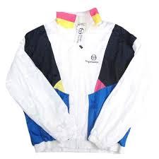 Vintage Sergio Tacchini Windbreaker Jacket