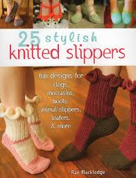 25 stylish knitted slippers fun designs for clogs moccasins