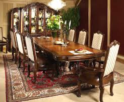 Ethan Allen Dining Room Table Round by Round Decorative Glass Top Dining Table Victoria Palace By Aico