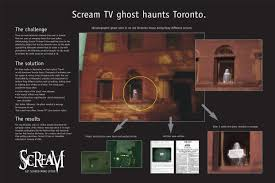Halloween Ghost Hologram Projector by Corus Entertainment Scream Tv Television Channel Get Scared More