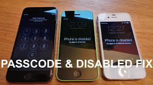 How to remove reset any disabled or Password locked iPhones 6S & 6