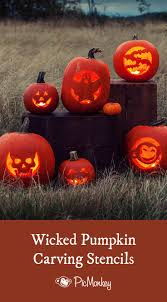 Mummy Pumpkin Carving Patterns Free by 20 Pumpkin Templates I Like These Not Super Complicated