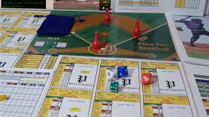 Pine Tar Baseball Is A Fun And Fast Paced Dice Card Game For 1 To 2 Players The Features Streamlined Play
