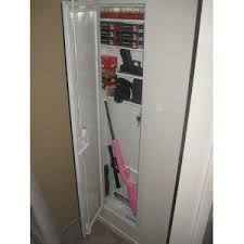 stack on iwc 55 full length in wall gun storage cabinet 48 99