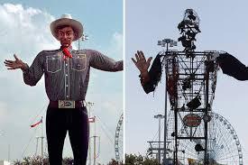 State Fair Icon Big Tex Burns