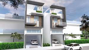 100 Narrow House Designs Design Front Size 5m