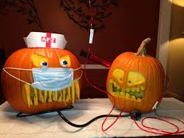 Nerdy Pumpkin Carving by Iv Nurse Entry For Work Pumpkin Carving Contest Jack U0027o