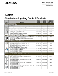 Ceiling Mount Occupancy Sensor Wiring Diagram by Gamma Stand Alone Lighting Control Products