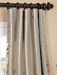Striped Curtain Panels 96 by Solid Brown Velvet Curtain Panel 96
