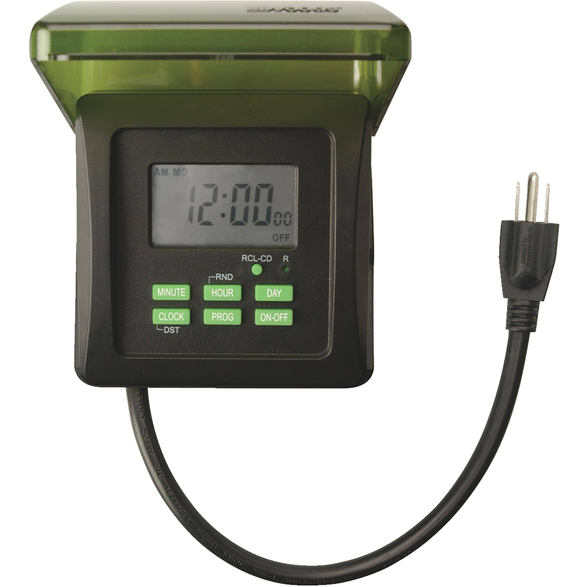 Coleman Cable Outdoor Digital Timer