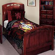 amazon com harry potter j adore gryffindor twin bed set