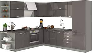 mirjan24 küche multiline i küchenblock küchenzeile mit