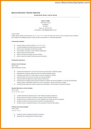 Resume Format Example For Post Of Jobs Sample Teacher Teaching Template Free