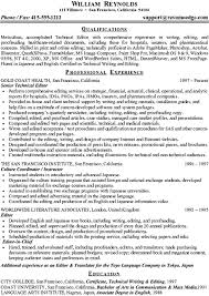 47 Technical Writer Resume Sample Competent Portray Editor 2 After With Medium Image