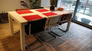 esszimmer tisch für 6 personen in weiß