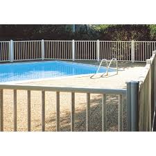 barriere escalier leroy merlin barrière pour piscine aluminium issambres blanc 9010 h 120 x l
